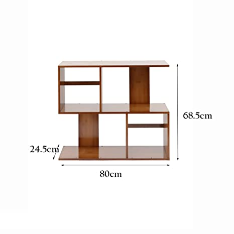XIAOXIAO Scaffale creativo multifunzionale in legno massello combinato Facile da spostare ( dimensioni : 80*68.5*2.5cm )