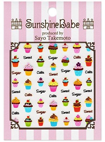 SunshineBabe ネイルシール カップケーキ