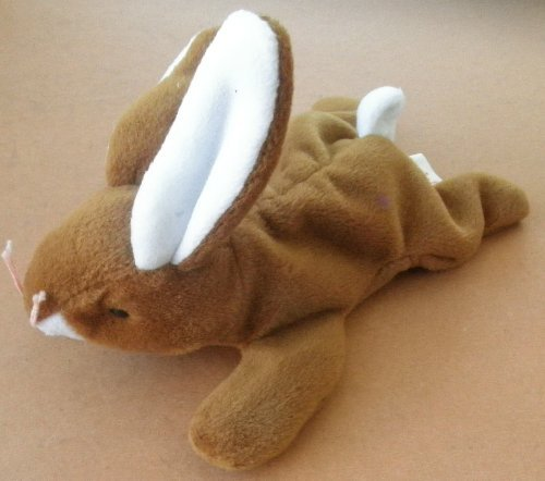 TY Beanie Babies Ears the Rabbit Plush Toy Stuffed Animal