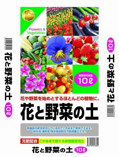 プラント 花と野菜の土 10L写真1
