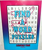 Find a Word Puzzles Leisure Time Volume #20…