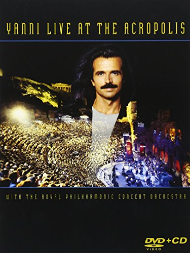 Yanni - Live at the Acropolis (With CD, Amaray Case, 2PC)