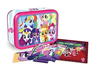 My Little Pony Friendship Is Magic Exclusive Trading Card Collectors Tin Gift Set