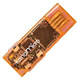 GREEN HOUSE microSD対応カンタン手軽デジタルオーディオ Kana micro オレンジ GH-KANAMR-O