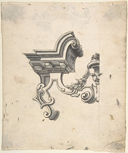 anonymous-one-half-of-a-design-for-an-overdoor-recto-two-designs-for-altars-one-for-a-capital-verso-