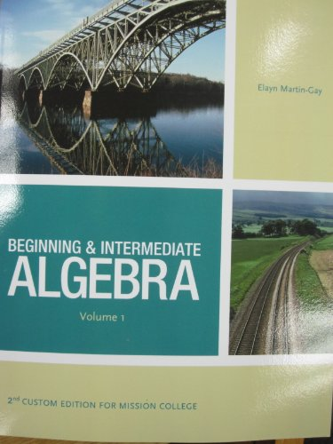 from Ares intermediate algebra 5th edition elayn martin gay