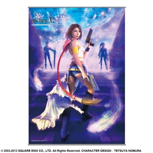 FINAL FANTASY X-2 HD Remaster ウォールスクロールポスター