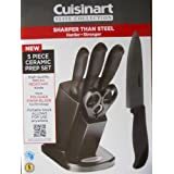 Cuisinart Elite Collection 5 Piece Ceramic Prep Set With Knife Block