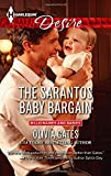 img - for The Sarantos Baby Bargain (Harlequin Desire\Billionaires and Babies) book / textbook / text book