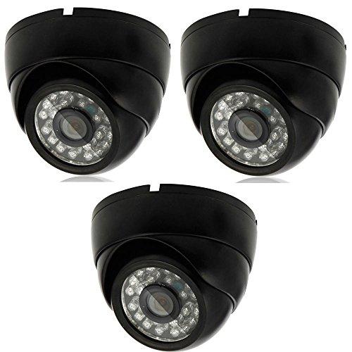 3X 1000TVL HD 3.6mm CCTV Outdoor Waterproof Security Camera IR Night Vision Hot