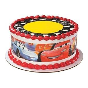 Edible Cake Images Disney Cars : Disney Cars Cake Wraps Edible Image Sugar Sheet Designer ...