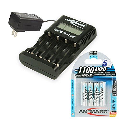 Ansmann-Powerline-4-Light-carica-batterie