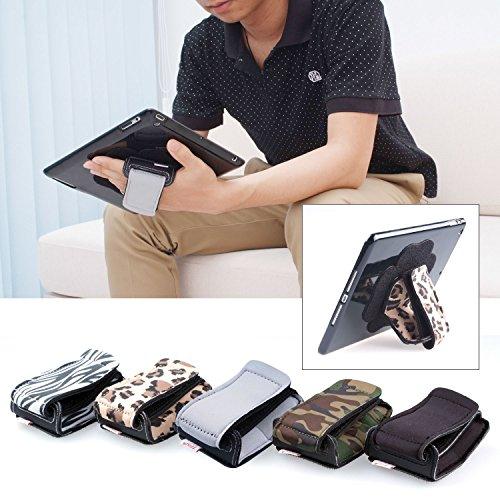 TFY iPad gepolstert Hand-Strap plus Tablet-PC Abdeckungsfall(iPad Mini & Mini 2,Zebra)