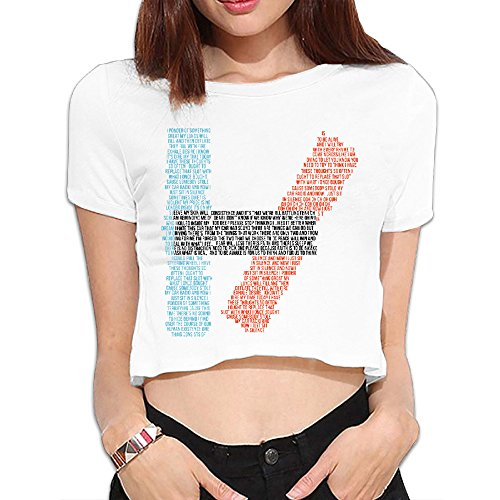 SYY Woman Twenty One H Pilots Sexy Crop Top Size S White (One Direction Cd Case compare prices)