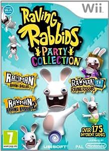 Rayman contre les Lapins Crétins - party collection (3 jeux en 1)