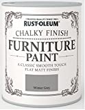 Rust-Oleum RO0070016X1 Classic Smooth Touch Flat Matt Paint Finish - Winter Grey