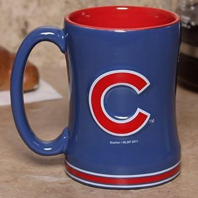 MLB 15 ounce Sculpted Coffee Mug