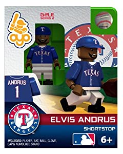 Elvis Andrus 2013 Generation 2 Oyo Mini Figure Texas Rangers by OYO