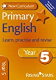 English: Year 5 (Rising Stars Study Guides Series) (New Curriculum)