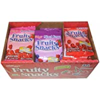 Kellogg's Fat Free Variety Pack Fruity Snacks (2.5 Oz, 36 Ct)