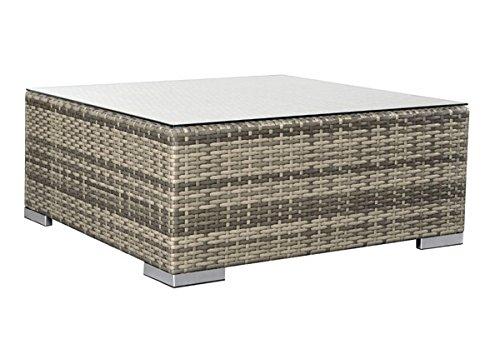 Rattan Loungeelement Espace Exclusive Tisch B 75x75cm – Farbe: braun meliert jetzt bestellen