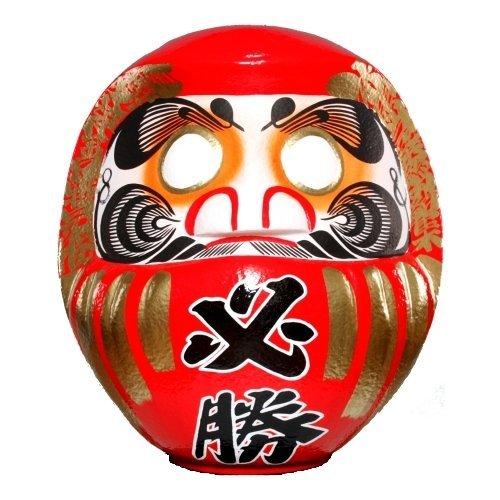 高崎だるま 必勝だるま60号(選挙用) 赤