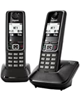Gigaset A420 Duo Téléphone Sans fil DECT/GAP Noir