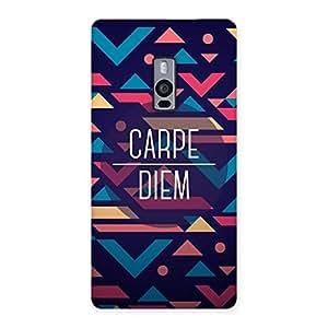 Ajay Enterprises Ft Carpesor Back Case Cover for OnePlus Two