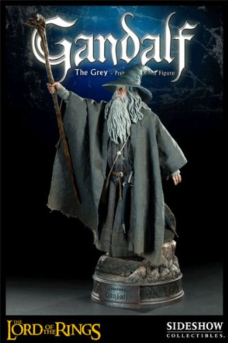 Picture of Sideshow Gandalf the Grey Premium Format Figure Lord of the Rings (B0042L481A) (Sideshow Action Figures)