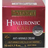Prestice Hyaluronic Care Anti-Wrinkle Cream Night Cream 45+ 1.7 Fl Oz.