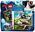 Lego Legends of Chima - Speedorz - 70107 - Jeu de Construction - L'expulsion Chi