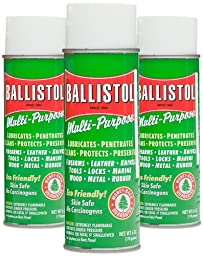 Ballistol Multi-Purpose Lubricant Cleaner Protectant Combo Pack #4