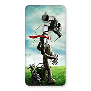 Delighted Guy Weird Back Case Cover for LeTv Le Max