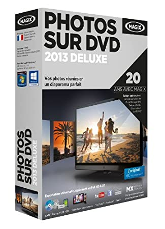 Magix photos sur DVD 2013 deluxe