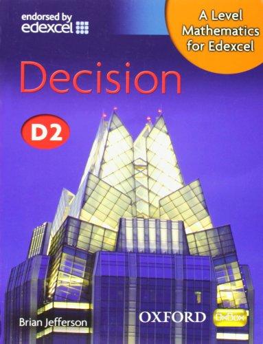 A Level Mathematics for Edexcel: Decision D2 (New Alevel)