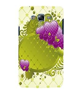 printtech Heart Design Back Case Cover for Samsung Galaxy J1::Samsung Galaxy J1 J100F