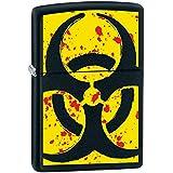 Zippo Hazardous Black Matte Lighter