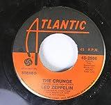 Led Zeppelin 45 RPM The Crunge / D'yer Mak'er