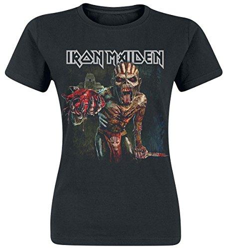Iron Maiden Ed Heart Maglia donna nero L