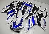 YAMAHA /ヤマハ 用 フルカウル 適応モデル R25 R3 2014-2015 外装パーツセット (カウル(blue))