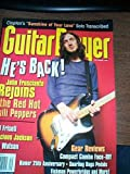 img - for GUITAR PLAYER September 1999 John Frusciante cover book / textbook / text book