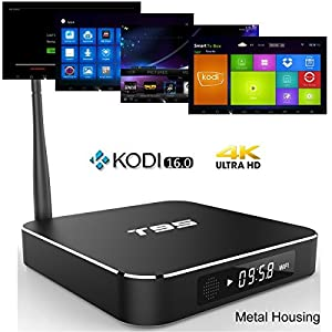 XIKEZAN T95 mini Android 5.1 Tv Box Quad-core Amlogic S905 CPU 2GP/8GP 4K HD Decoding Android Smart TV media player with XBMC Kodi full loaded Add-Ons Netflix Youtube skype (2GB+8GB)