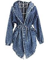 Imixcity - Blouson -  Femme Bleu Cowboy color