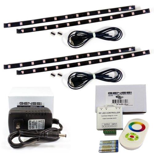 GENSSI GLOWPROTV LED Back-Lit HDTV Glow Back Lights Accent Kit For 32