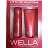 Wella Brilliance DUO Color Care For Fine/Normal Hair Shampoo 10.1 Oz And Conditioner 8.1 Oz