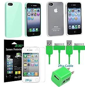 White Premium Bumper Case for Apple iPhone 4S / 4 - (AT&T, Verizon, Sprint)