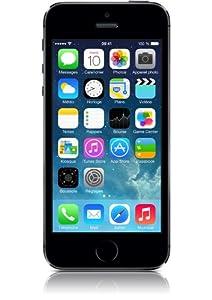 Apple iPhone 5s Smartphone débloqué 4G (Ecran : 4 pouces - 16 Go - iOS 7) Gris Sidéral