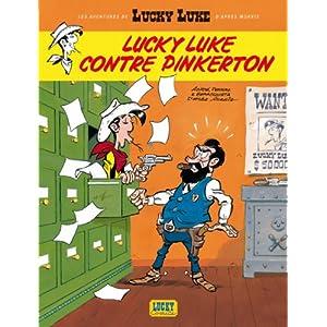 Les nouvelles Aventures de Lucky Luke, tome 4 : Lucky Luke contre Pinkerton