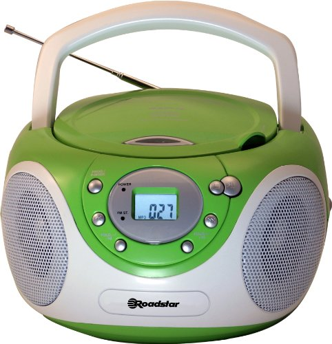 Roadstar CDR-4230MP/GR Stereo CD/MP3 Boombox grün