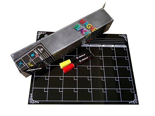 Calendar Liquid Planner : Gleegoods magnetic blackboard calendar planner organizer
